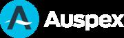 Auspex_Logo_on_Dark_Blue_HOZ_RGB